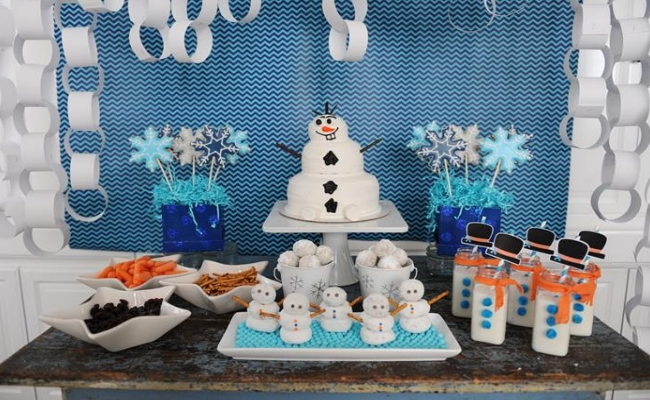 Winter Theme Birthday Party For Baby Baby Couture India