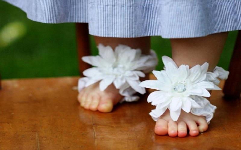 b832b0c19 Baby Accessories Online | Buy Baby Toe Blooms Online - Baby Couture ...