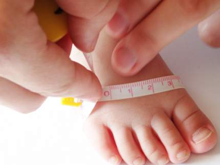 Children's feet grow at a pretty incredible rate, so it's really important to get them measured regularly. Until the age of four, you'll probably need to get measured every six to eight weeks – your baby's shoe size will be growing about two sizes a year during this period, so be .