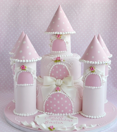 How To Make A Fairy Princess Castle Cake