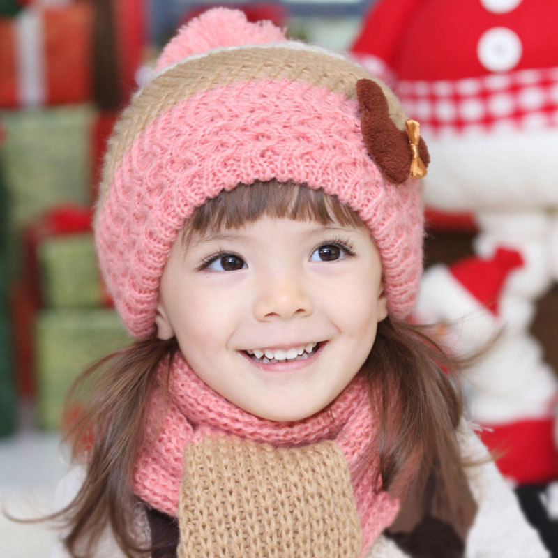 Knitting Patterns For Childrens Hats And Scarves : Give Winter Makeover to Your Toddler s Wardrobe - Baby Couture India