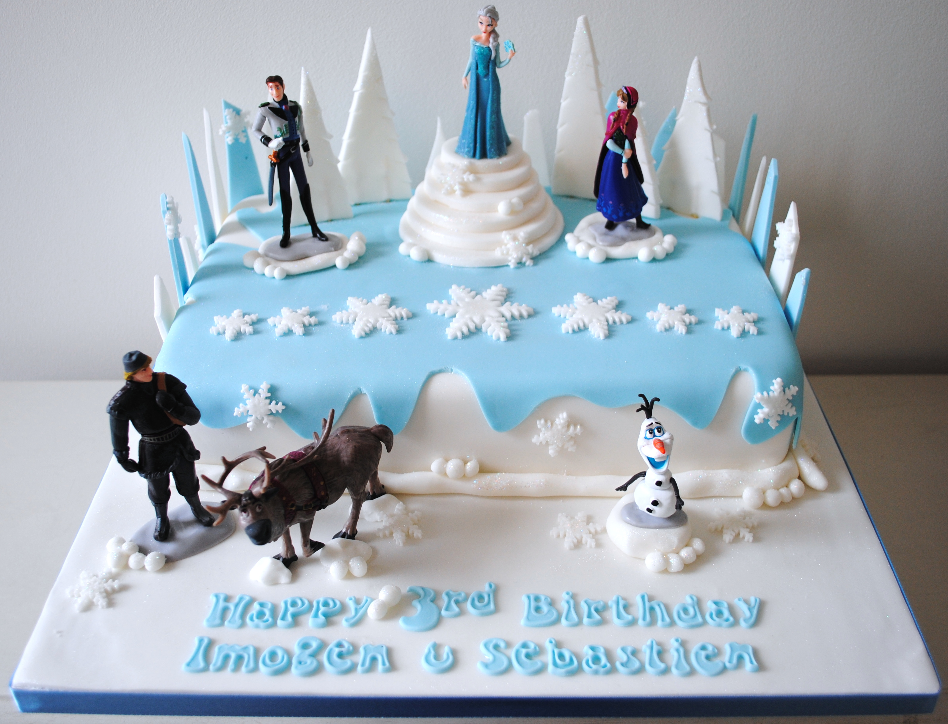 Disney-Frozen-Elsa-childrens-novelty-birthday-novelty-cake