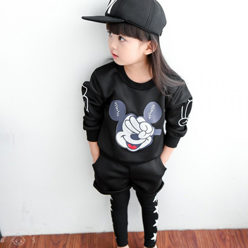 Yo Mickey Autumn Shorts Legging Set