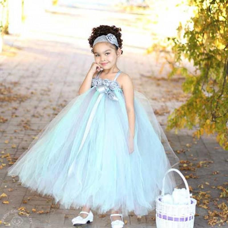 عکس لباس مجلسی دخترانه حریر آبی