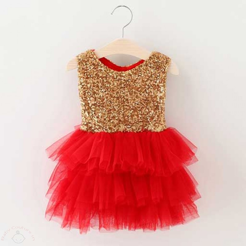 Dazzling Sequin Dresses for the party season! - Baby Couture India