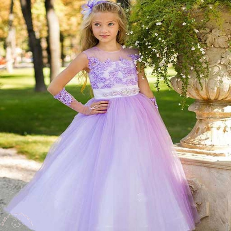 Stunning Gowns for your adorable Daughter - Baby Couture India
