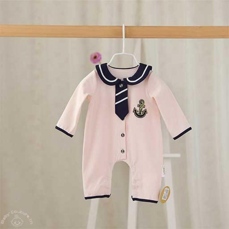 cute-peach-tie-baby-bodysuit