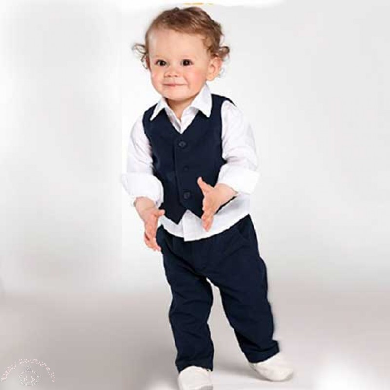 f4aa10d06434 Cute Outfits Ideas for Baby Boy s 1st Birthday Party - Baby Couture ...