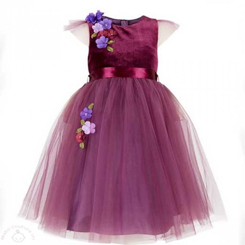 purple-tulle-flowers-kids-party-dress