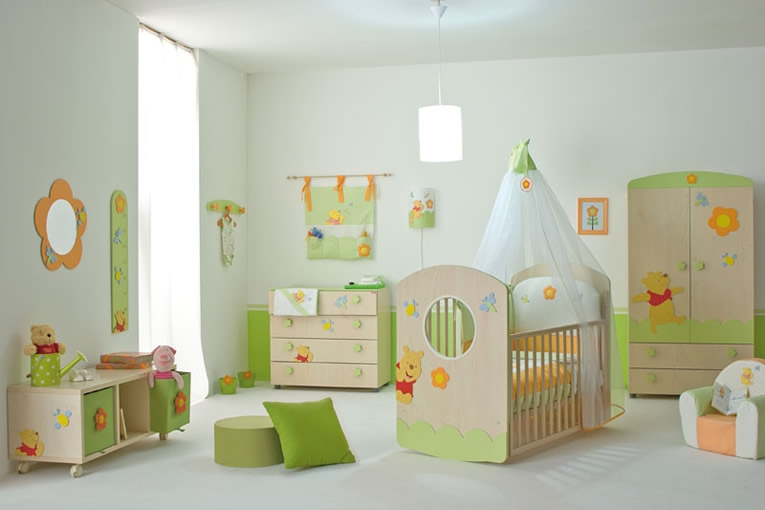 6 Tips for Decorating a Baby\'s Nursery - Baby Couture India
