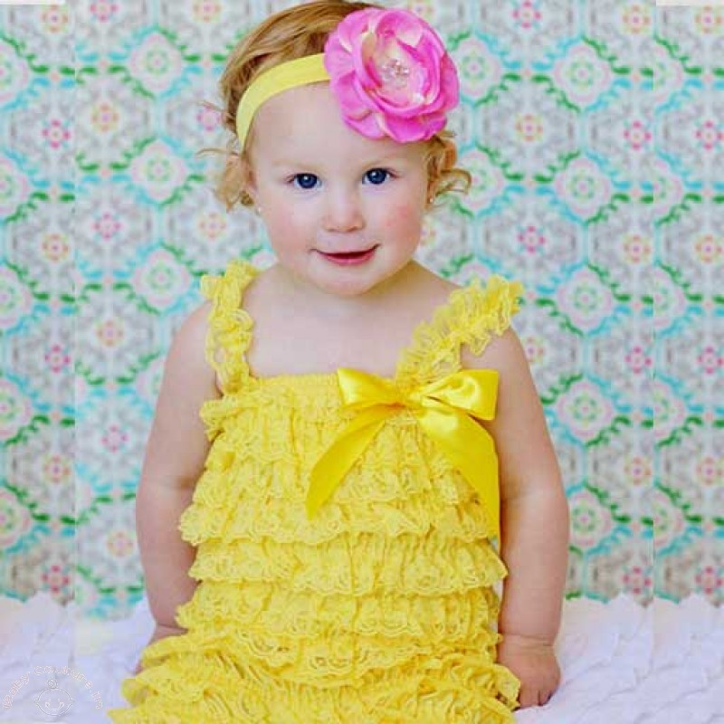 Ruffled Rompers To Style Your Baby Girl This Summer - Baby Couture India