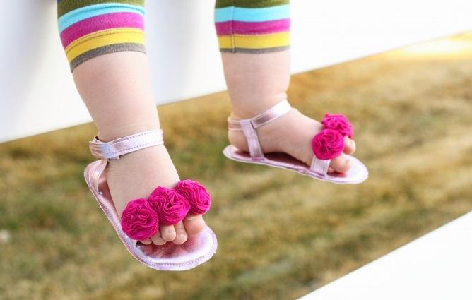 Baby Girl Summer Checklist: Sandals