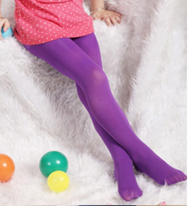 Violet Candy Stocking