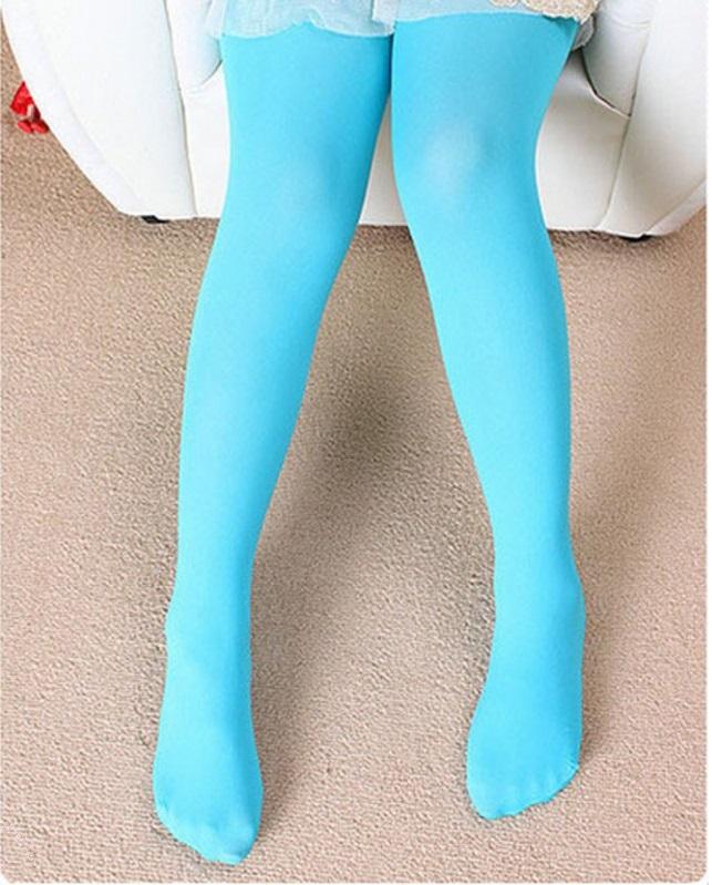 Pretty Blue Candy Stocking