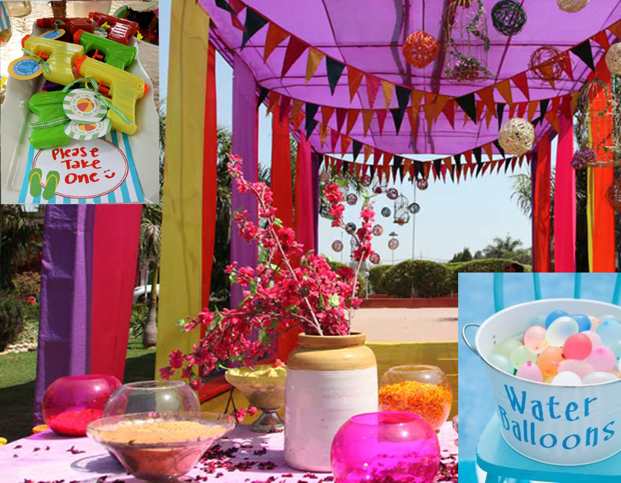 Ideas To Make Your Holi Kids Party A Fun