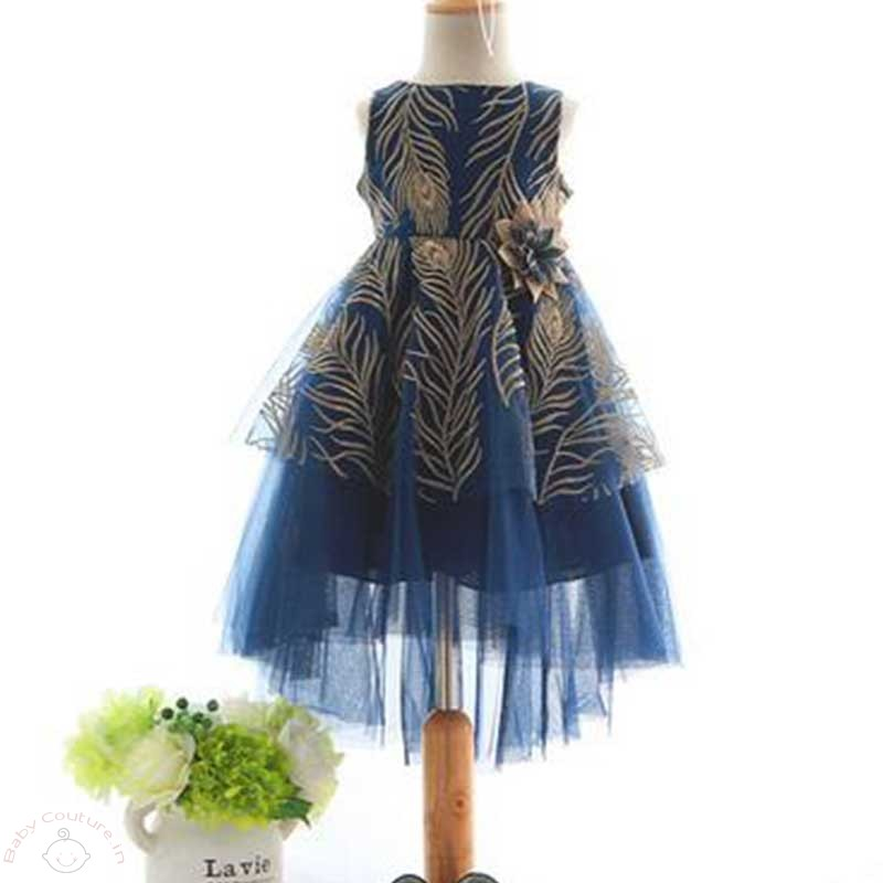 gold-embroidered-navy-love-kids-party-dress5