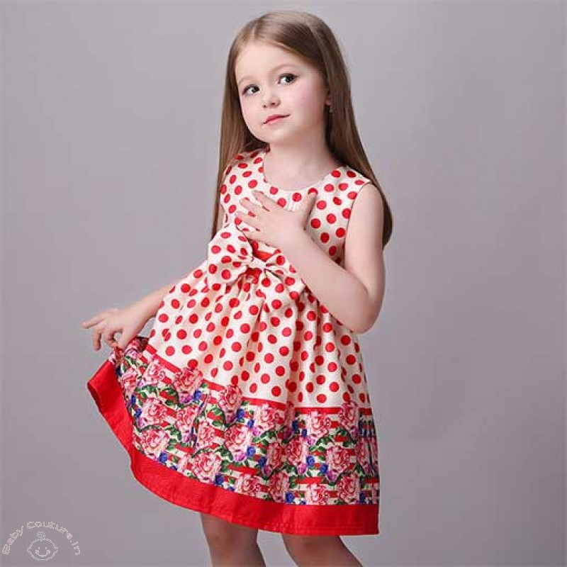 a23719dd4e91 Rocking Polka Dots - Kiddie Style - Baby Couture India