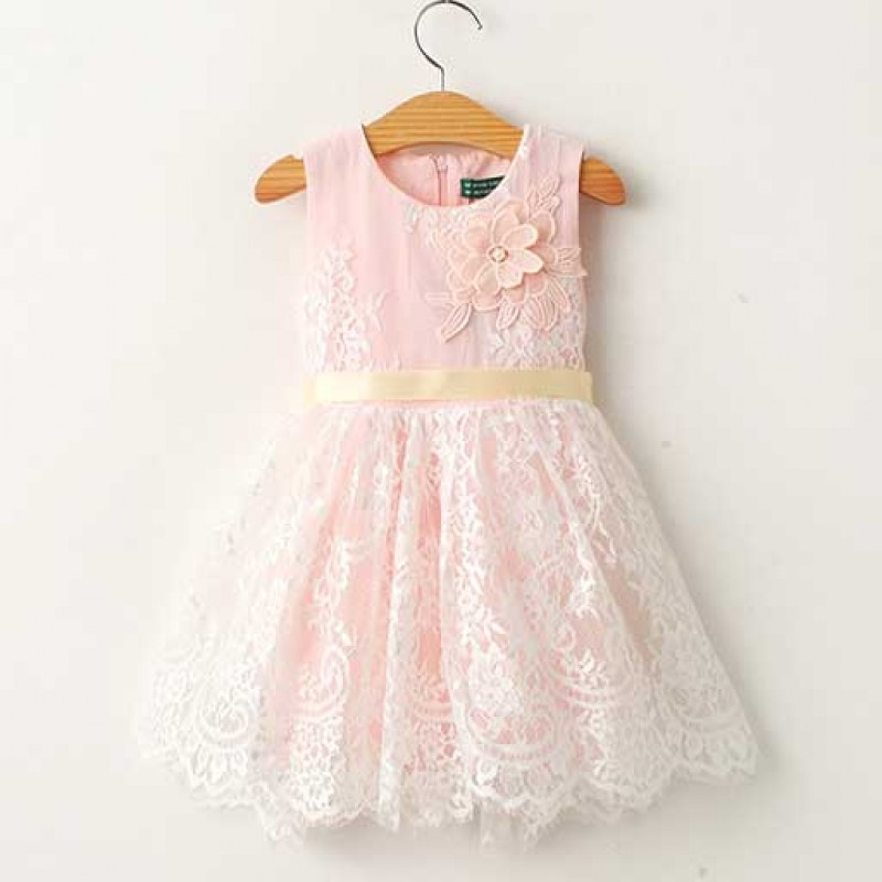 angelic-lace-pink-pearl-summer-dress