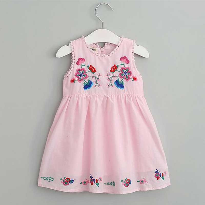 cute-embroidered-pink-summer-dress