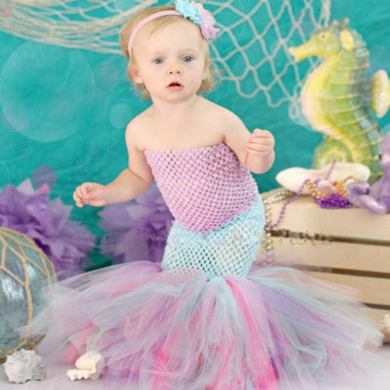 lavender-mermaid-cute-baby-tutu-set