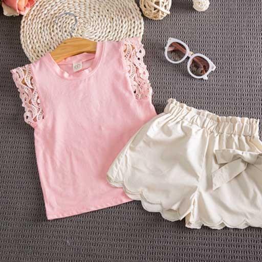 peach-_-khakhi-kids-short-set2