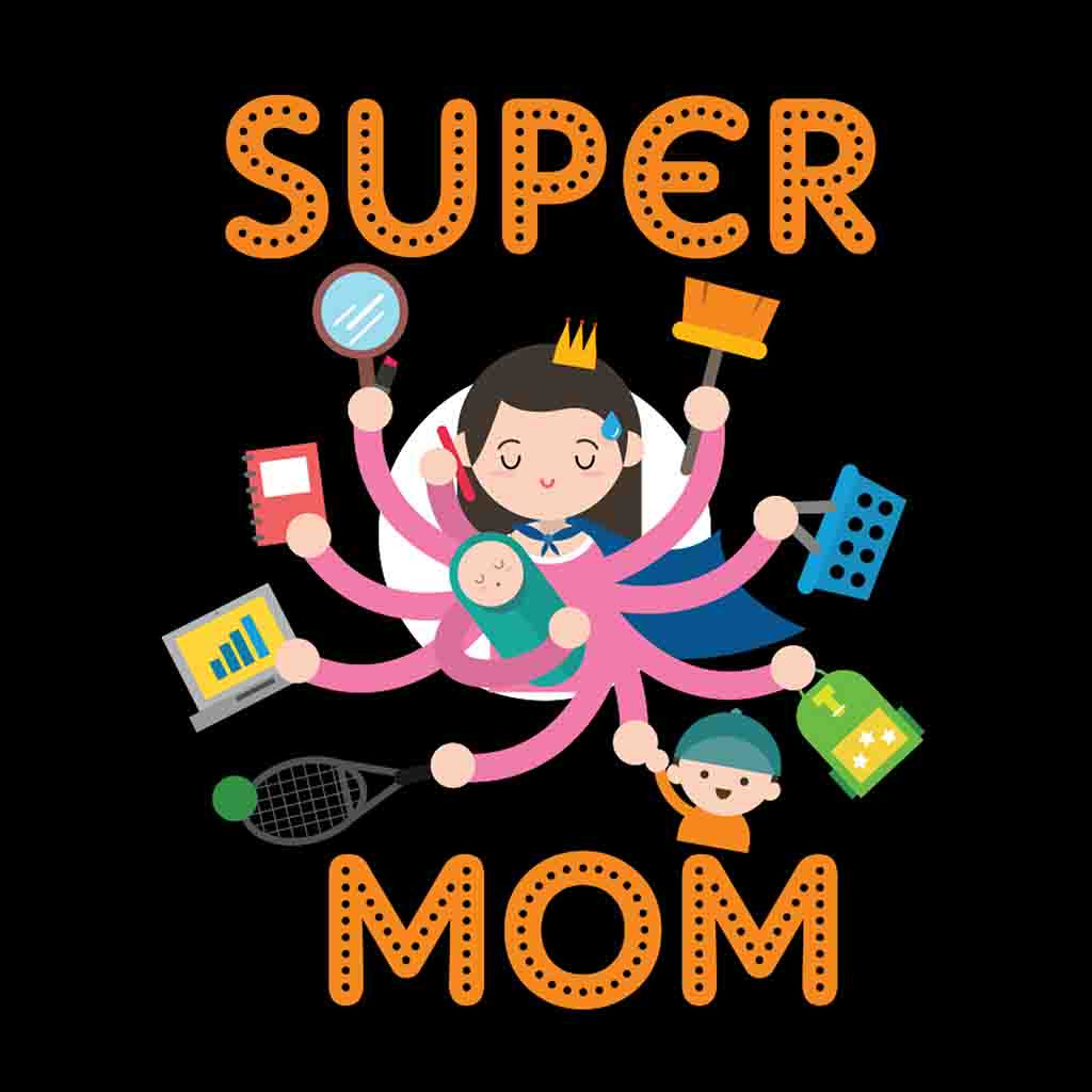 super mom Mothers are the world's best jugglers: family, work, money — they seem to do it all however, all that responsibility can often leave moms feeling overstretched and stressed out according to an apa 2010 survey, women are more likely to report physical and emotional symptoms of stress than men.