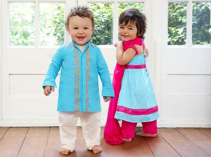 All Ethnic This Festive Season For Your Kids Baby