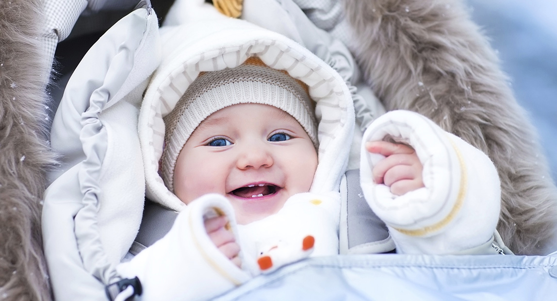4521ca267ec45 Know How To Dress Your Baby In Winters - Baby Couture India