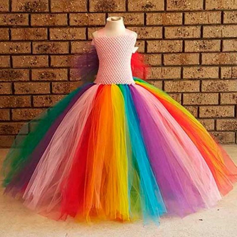 rainbow-butterfly-lovely-princess-tutu-dress