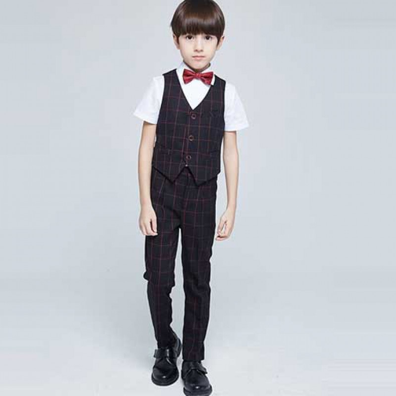 black-handsome-boy-checkered-suit-set1