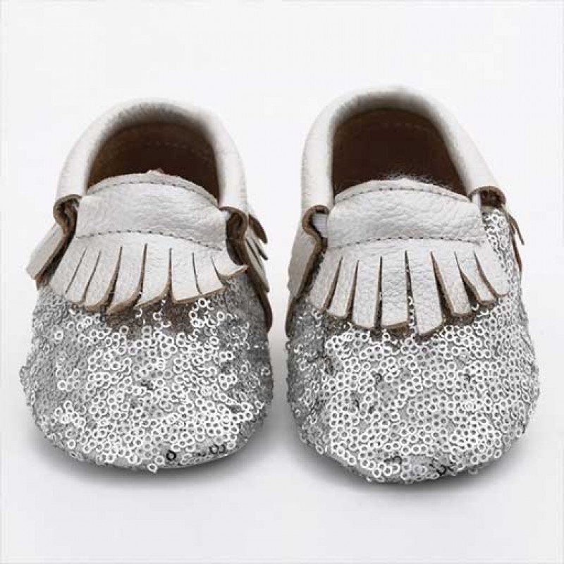funky-silver-sequin-baby-shoe