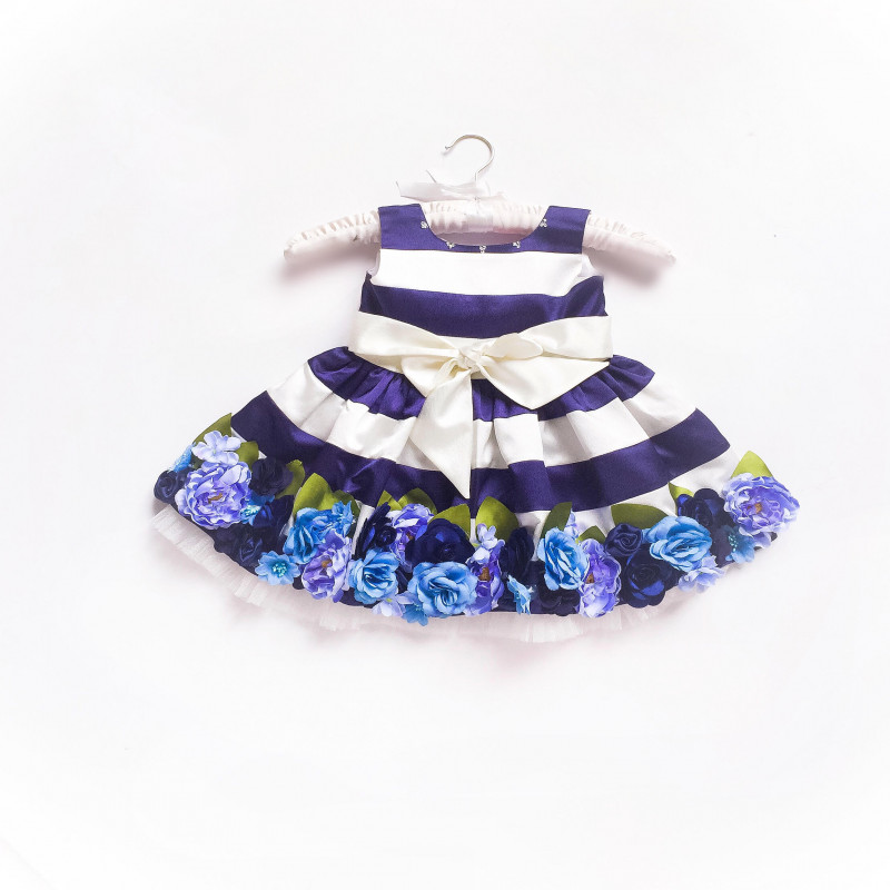 little_pixie_ink_blue_floral_kids_party_dress