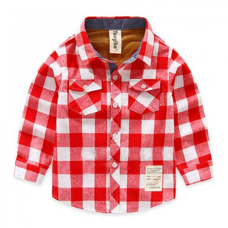 lovely-red-big-checks-shirt