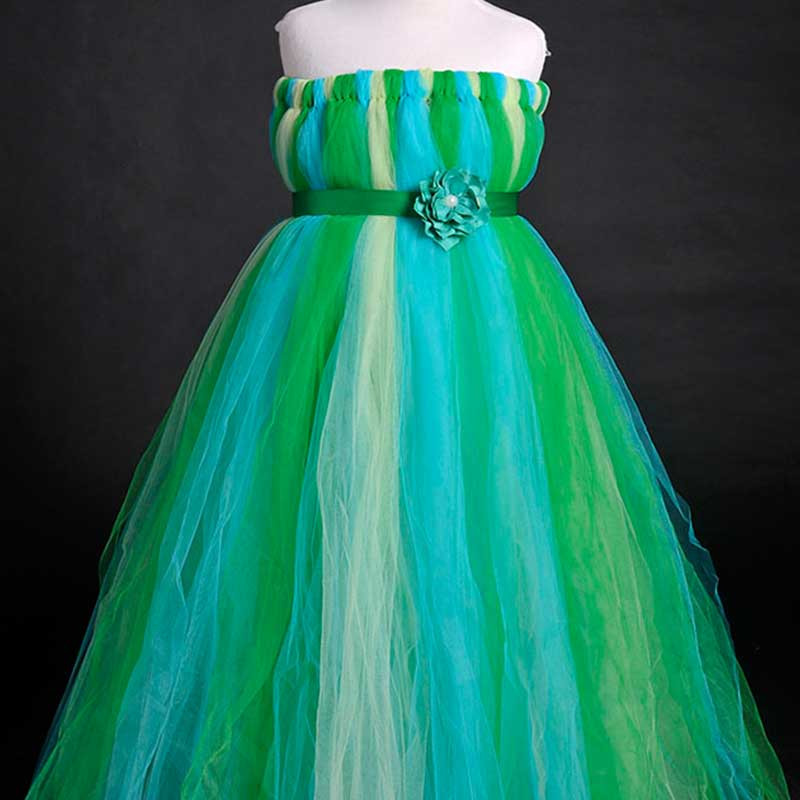 shaded-peacock-hue-panache-kids-tutu-dress