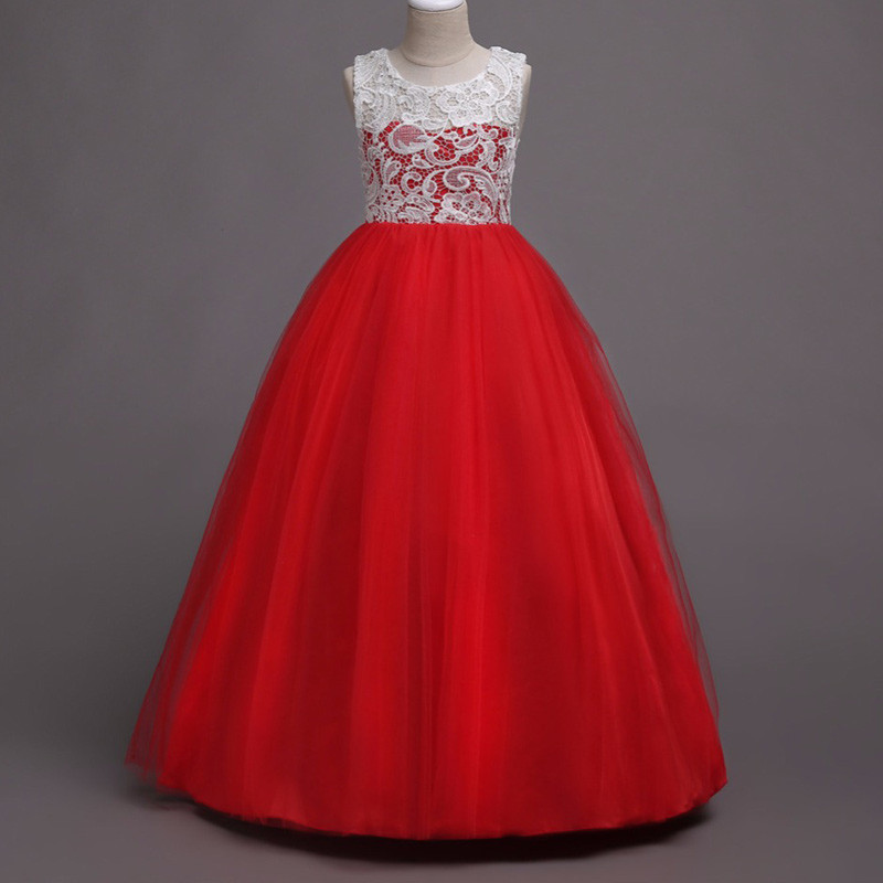 elegant_lace_red_kids_gown