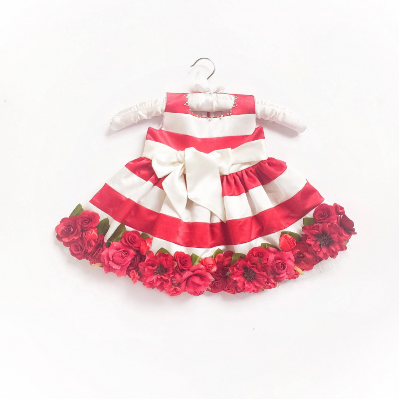 little_pixie_embellishment_red_floral_kids_party_dress
