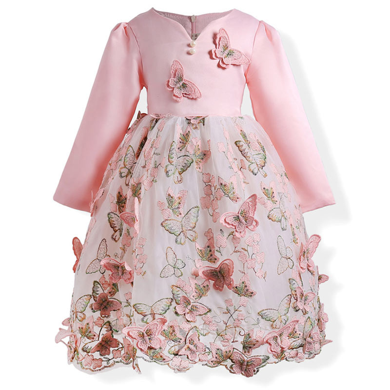 peachy_butterfly_3d_kids_party_dress