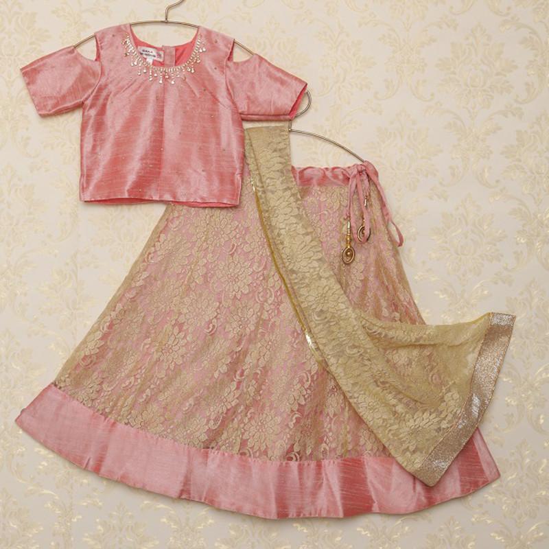 saka_pink_and_golden_cold_shoulder_lehanga_choli_set_1
