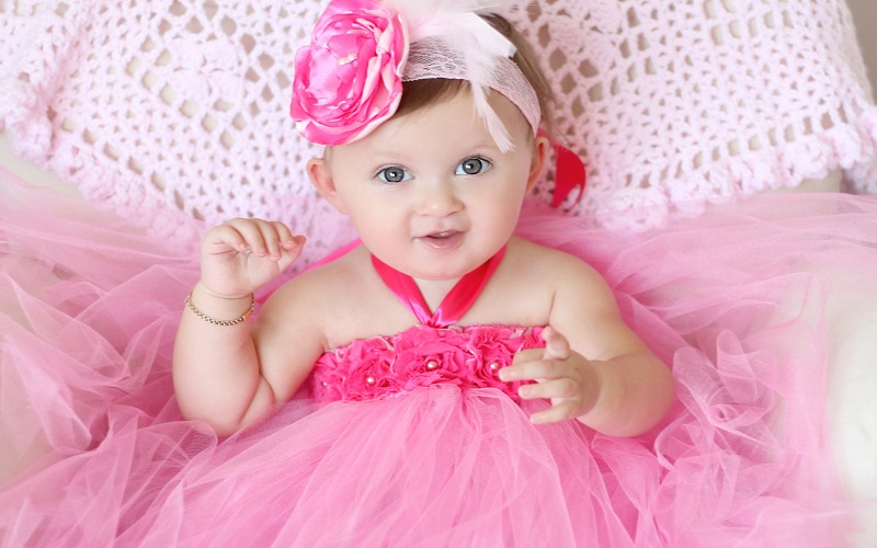 Online First Birthday Dresses For Kids Baby Couture India