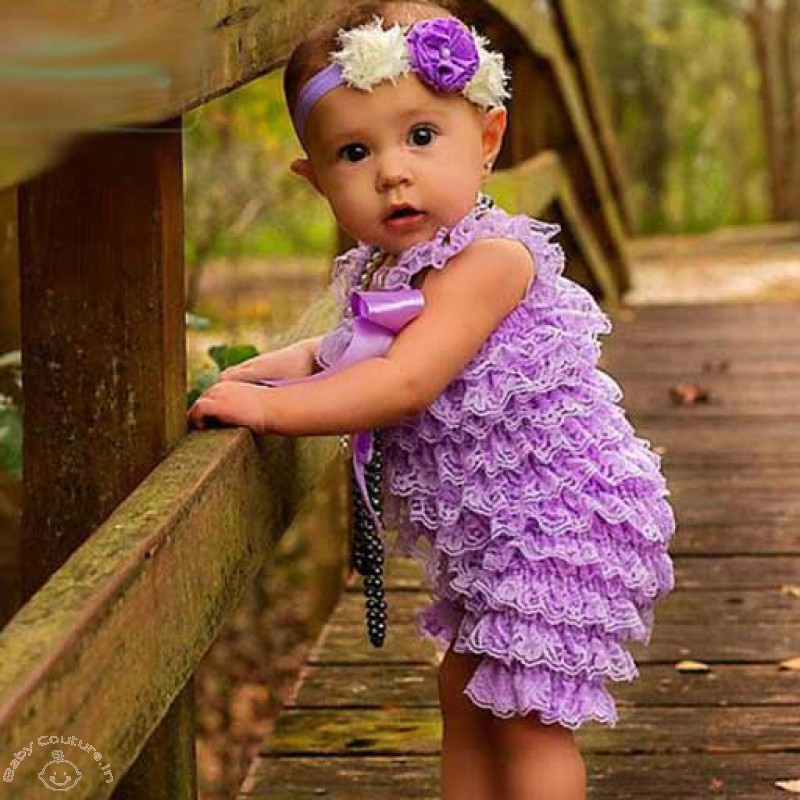 dfd2ad91e7f Ruffled Rompers To Style Your Baby Girl This Summer - Baby Couture India