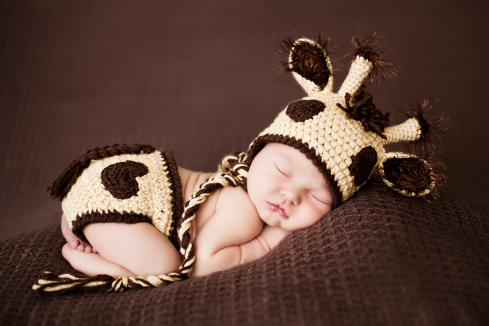 Styles of newborn photography baby couture india