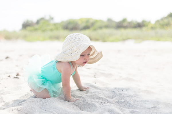 Tips For Having A Pleasant Beach Day With Your Baby Baby