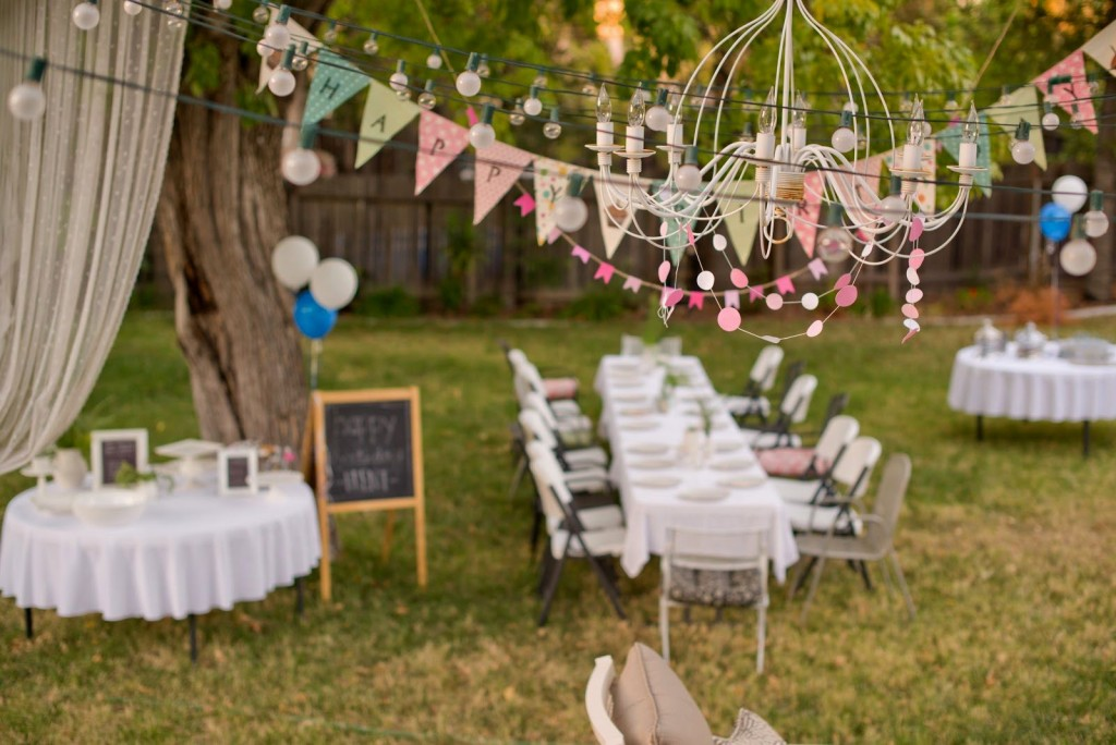 How To Organize A Memorable Outdoor Birthday Party Decorations Ideas