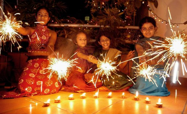 High Resolution Diwali Wallpapers: Kiddie Diwali Party- Double Lively, Double Fun