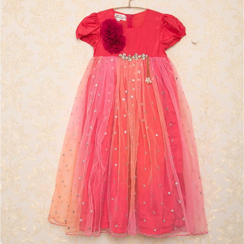 saka_shady_flare_ethnic_sequin_kids_party_dress