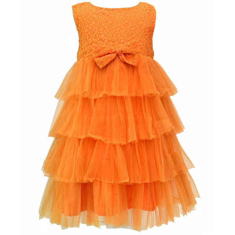 darlee_dache_orange_tieredstyle_frilly_kids_party_dress