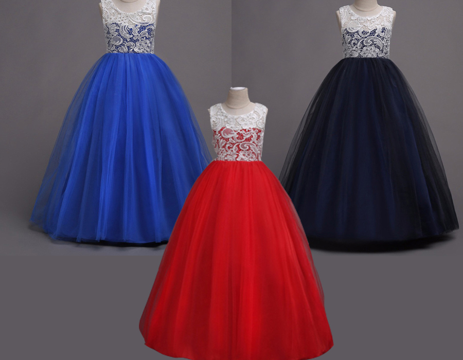 Dark-Blue-Kids-Gown