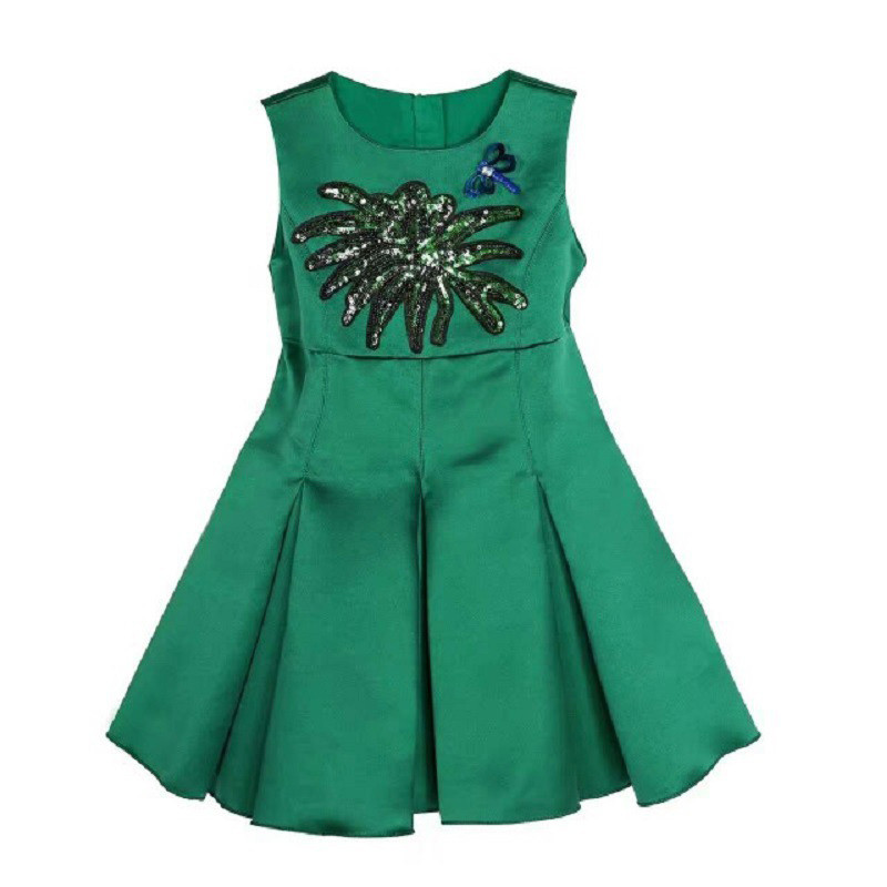 bottle_green_sequin_kids_dress2