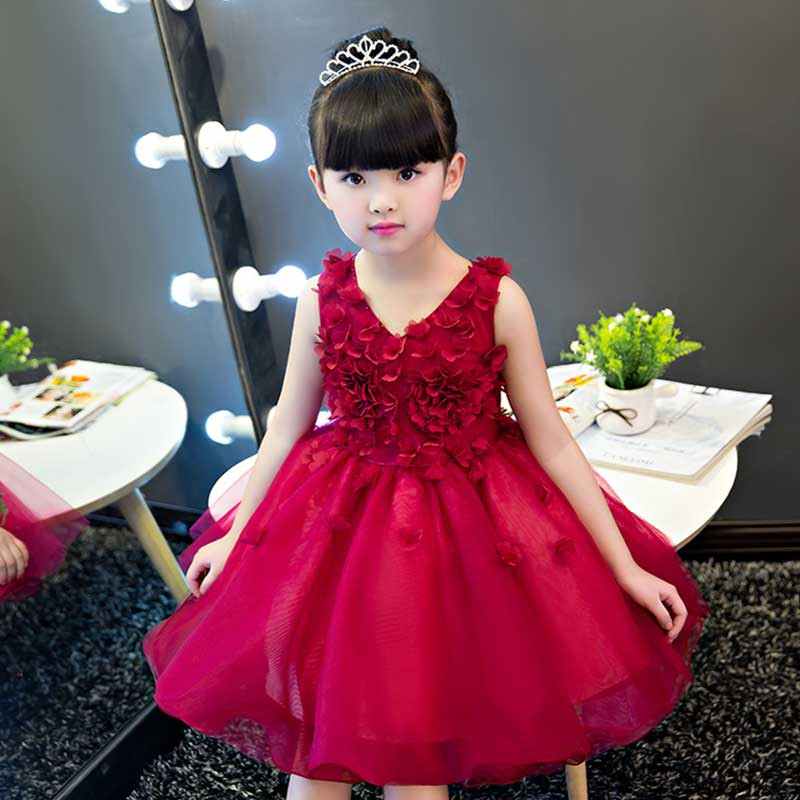 glam-wine-overall-flowers-kids-party-dress1