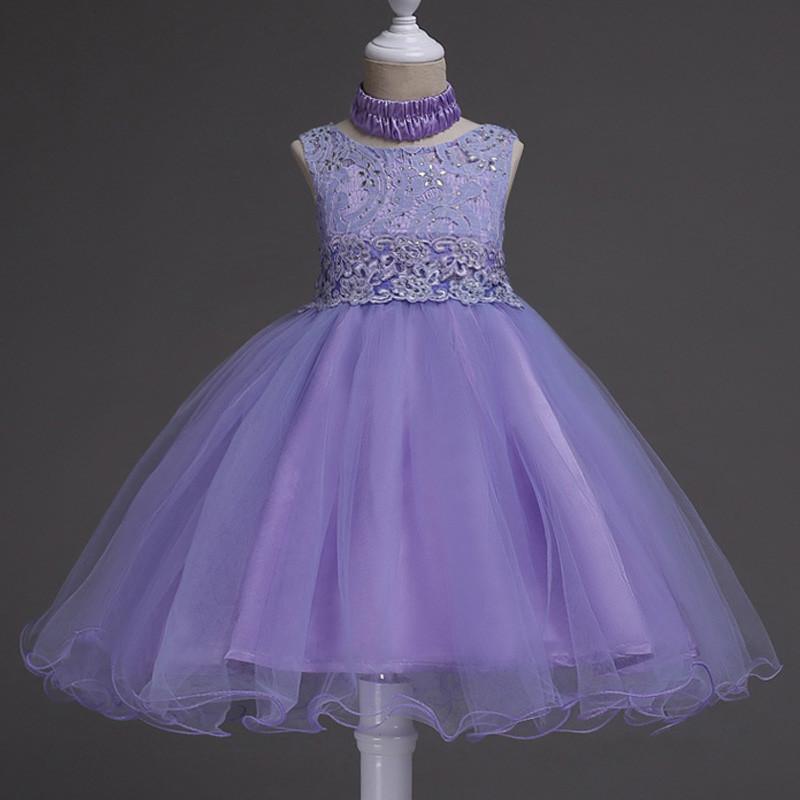 glittery_blue_peplum_kids_gown